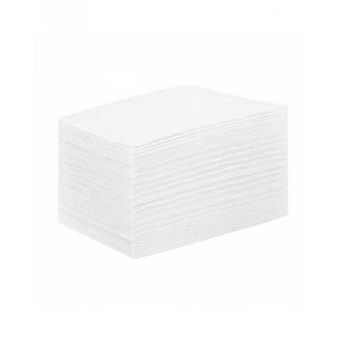Простыня из материала СМС (15 г/м2) 80*200см. Белые (уп.50 шт.)