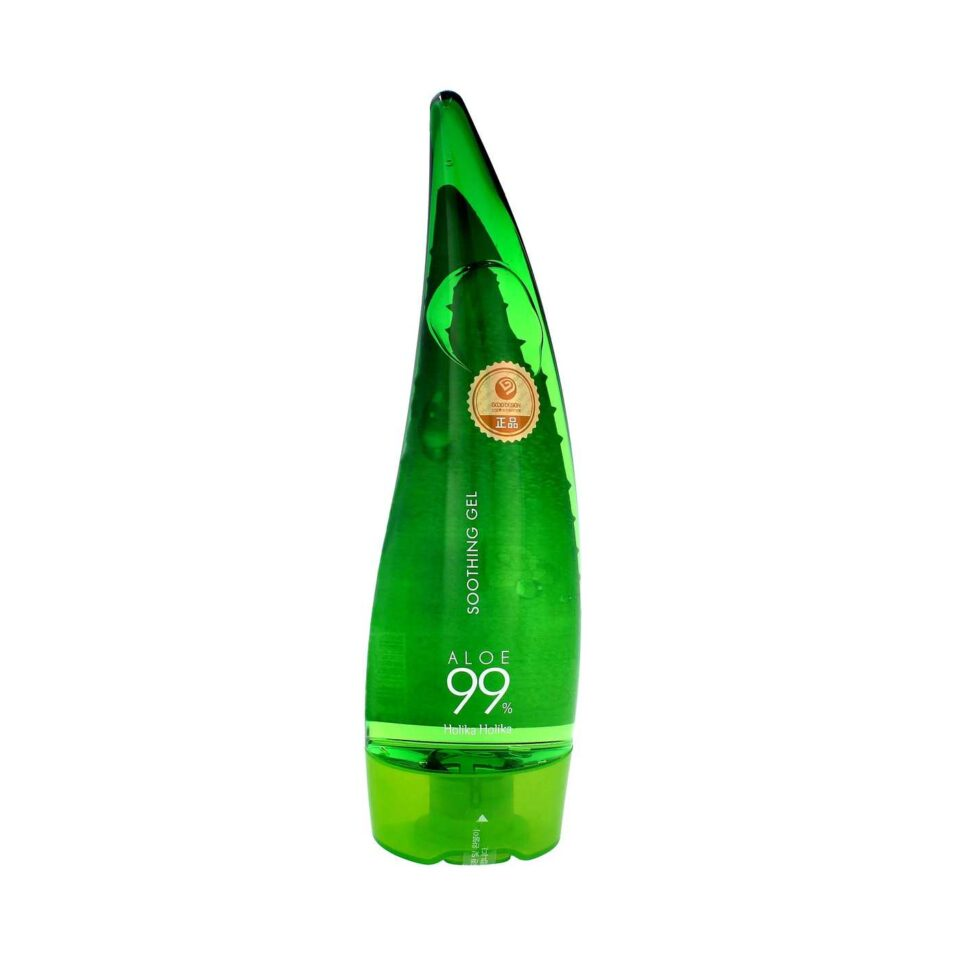 Гель для лица и тела увлажняющий, многофункциональный Soothing Gel Aloe 99%, Holika, 250 мл.