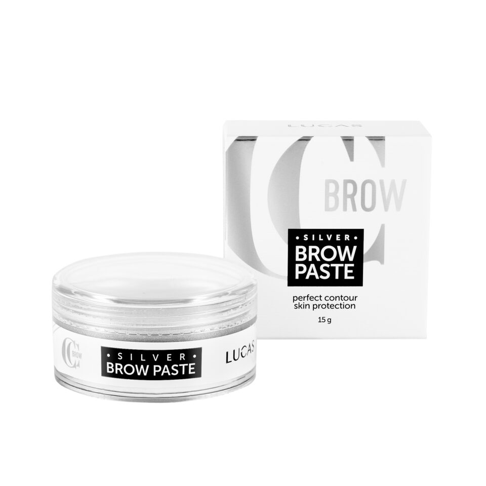 Паста для бровей серебряная Silver Brow Paste, CC Brow, 15 гр.
