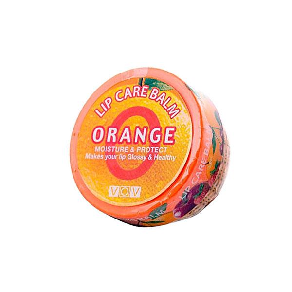 Vov бальзам для губ Lip Care Balm orange vita/апельсин