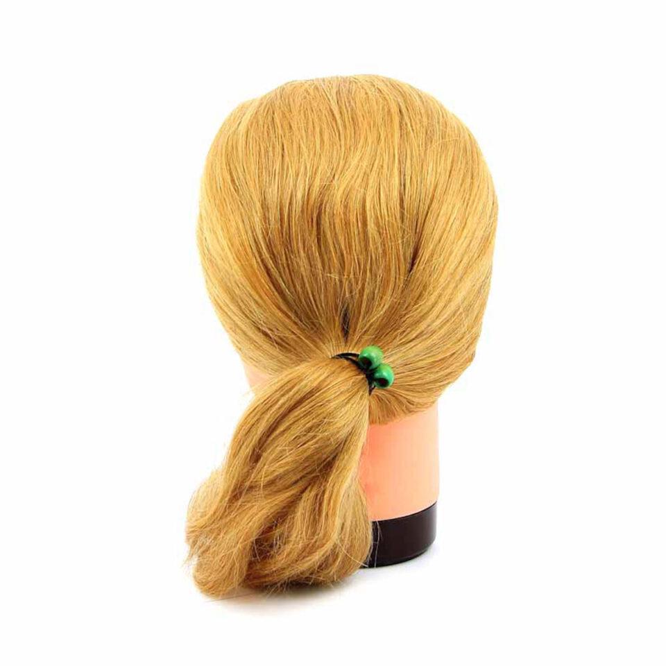 """Голова учебная DEWAL """"блондинка"""", натурал.волосы 45-50 см"""