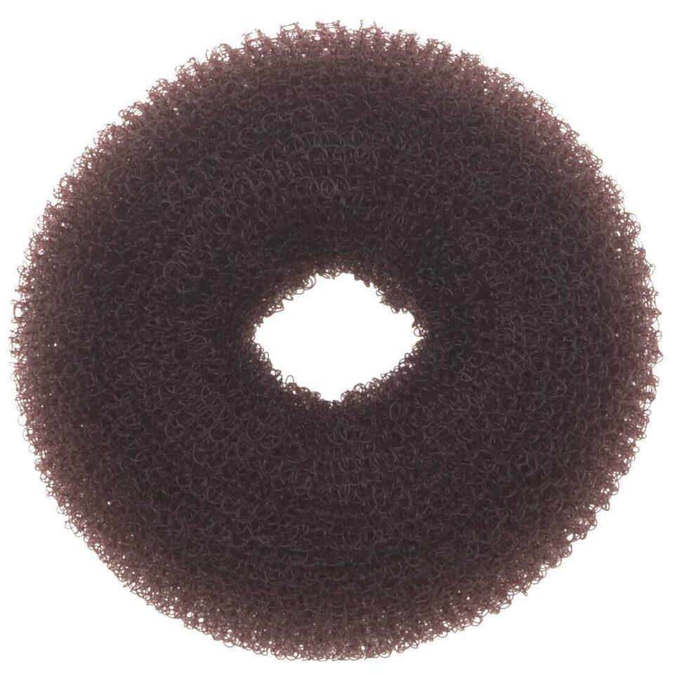 Валик для прически Fashion темно-коричневый размер XL