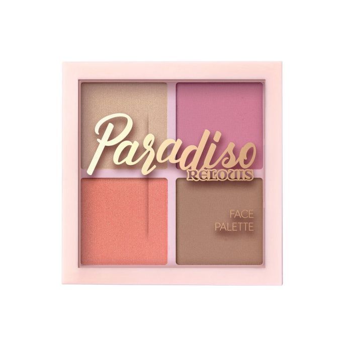 Relouis Paradiso палетка для лица т.01