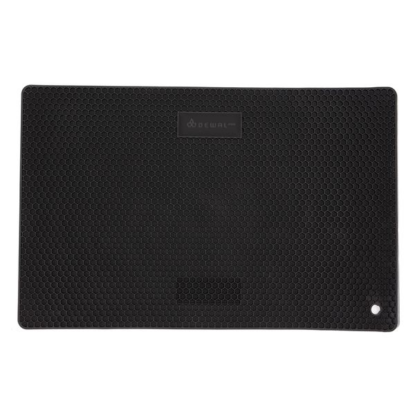 Коврик для инструментов DEWAL, силикон,черный 39 x 25 х 0.7 см